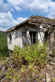 Old abandoned house from Bulgarian village in Rodopi mountain Stock Photography