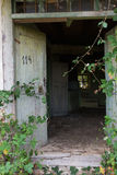 Old abandoned house in Bulgarian village, Rodopi mountain Stock Photography
