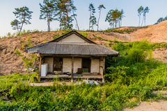 Old abandoned house in the countryside Stock Photography