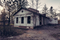 Old abandoned house Royalty Free Stock Images
