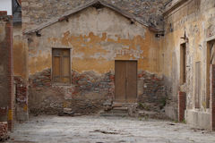 Old Abandoned House. In a ghost town Royalty Free Stock Image