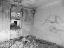 Old abandoned house interior Royalty Free Stock Photos
