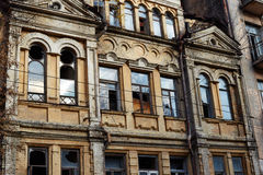 Old abandoned house in Kiev Royalty Free Stock Images