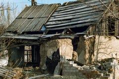 Old abandoned house. Stock Photo