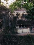 Old abandoned house. In rural are of india Stock Photo
