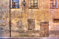 Old abandoned house. Serralunga D'Alba, Italy. Royalty Free Stock Image