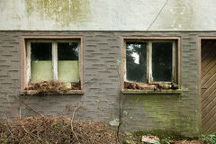 Old abandoned House stock photos