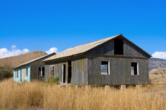Old abandoned houses Royalty Free Stock Photos