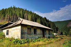 Old abandoned houses Stock Photo