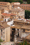 Old  abandoned houses in spanish town Royalty Free Stock Photography