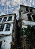 Old abandoned houses Royalty Free Stock Photography
