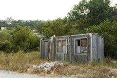 Old abandoned hut Stock Photo