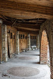 Old abandoned inn. In Mestia, Georgia Royalty Free Stock Photo