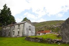 Old abandoned Kerry farmhouse Royalty Free Stock Photos