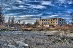 Old abandoned land HDR Stock Image