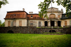 Old abandoned manor Stock Photography