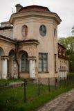 Old abandoned manor Stock Photo