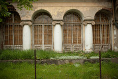 Old abandoned manor Royalty Free Stock Photography
