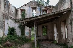 Old and abandoned monastery. Old and abandoned historic monastery stock image