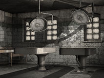 Old abandoned morgue Royalty Free Stock Photography
