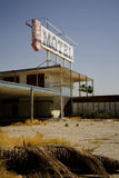 Old, Abandoned Motel Stock Image