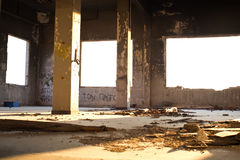 Old abandoned office Royalty Free Stock Photography