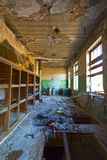 Old abandoned office Royalty Free Stock Photo