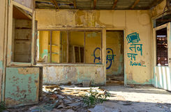 Old abandoned office Royalty Free Stock Image