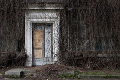 An old abandoned orangery Stock Image