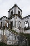 Old and abandoned palaces. Old and abandoned historic palaces Royalty Free Stock Images