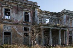Old and abandoned palaces. Old and abandoned historic palaces Stock Images
