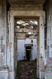 Old and abandoned palaces. Old and abandoned historic palaces Royalty Free Stock Photography