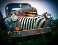 Old Abandoned Pick Up Truck Royalty Free Stock Photos