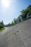 Old abandoned racetrack of Monza Stock Photo