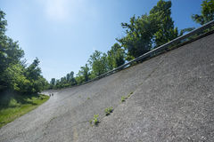 Old abandoned racetrack of Monza Stock Image