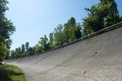Old abandoned racetrack of Monza Stock Image