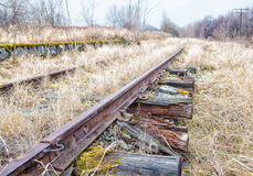 Old abandoned railroad Stock Images