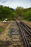 An old and abandoned railway Stock Photography