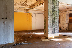 Old and abandoned room of the building Royalty Free Stock Image