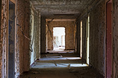 Old and abandoned room of  building Stock Photography
