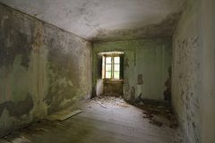 Old abandoned room Royalty Free Stock Image