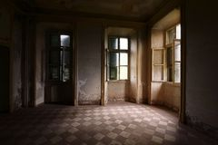 Old abandoned room Royalty Free Stock Photography