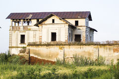 Old, abandoned, ruined house Royalty Free Stock Photos