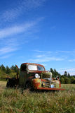 Old Abandoned Rusted Truck Royalty Free Stock Image