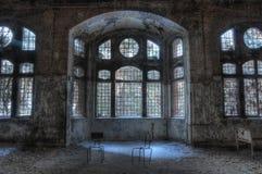 Old abandoned sanatorium in Beelitz Royalty Free Stock Photo