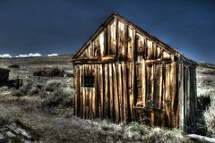 Old Abandoned Shack at Bodie Stock Photography