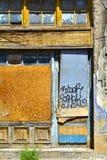 Old abandoned shop Stock Photo