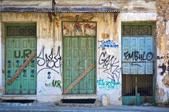 Old abandoned shop Royalty Free Stock Images