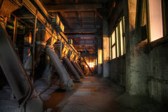 Free Old Abandoned Silo Elevator With Rusty Equipment Left Stock Photography - 92821772