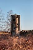 Old abandoned silo Stock Photography